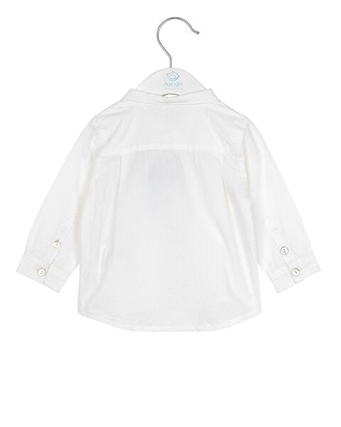 Noa Noa Boy Albani White Shirt