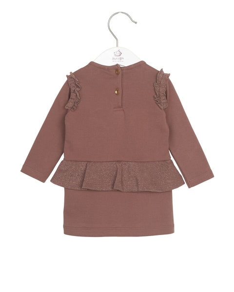 Noa Noa Winter Rose Dress LongSleeve
