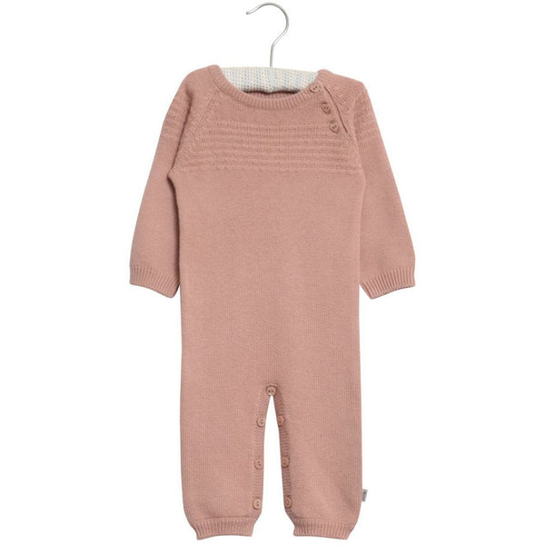 Wheat Sailor Knit Jumpsuit Rose Powder Heldragt