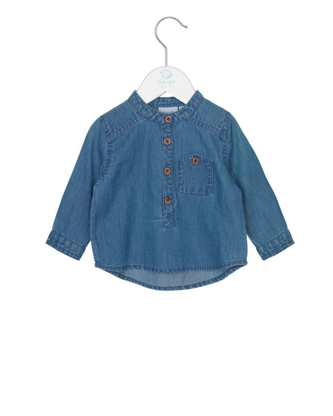 Noa Noa Boy Denim Shirt Vintage indigo
