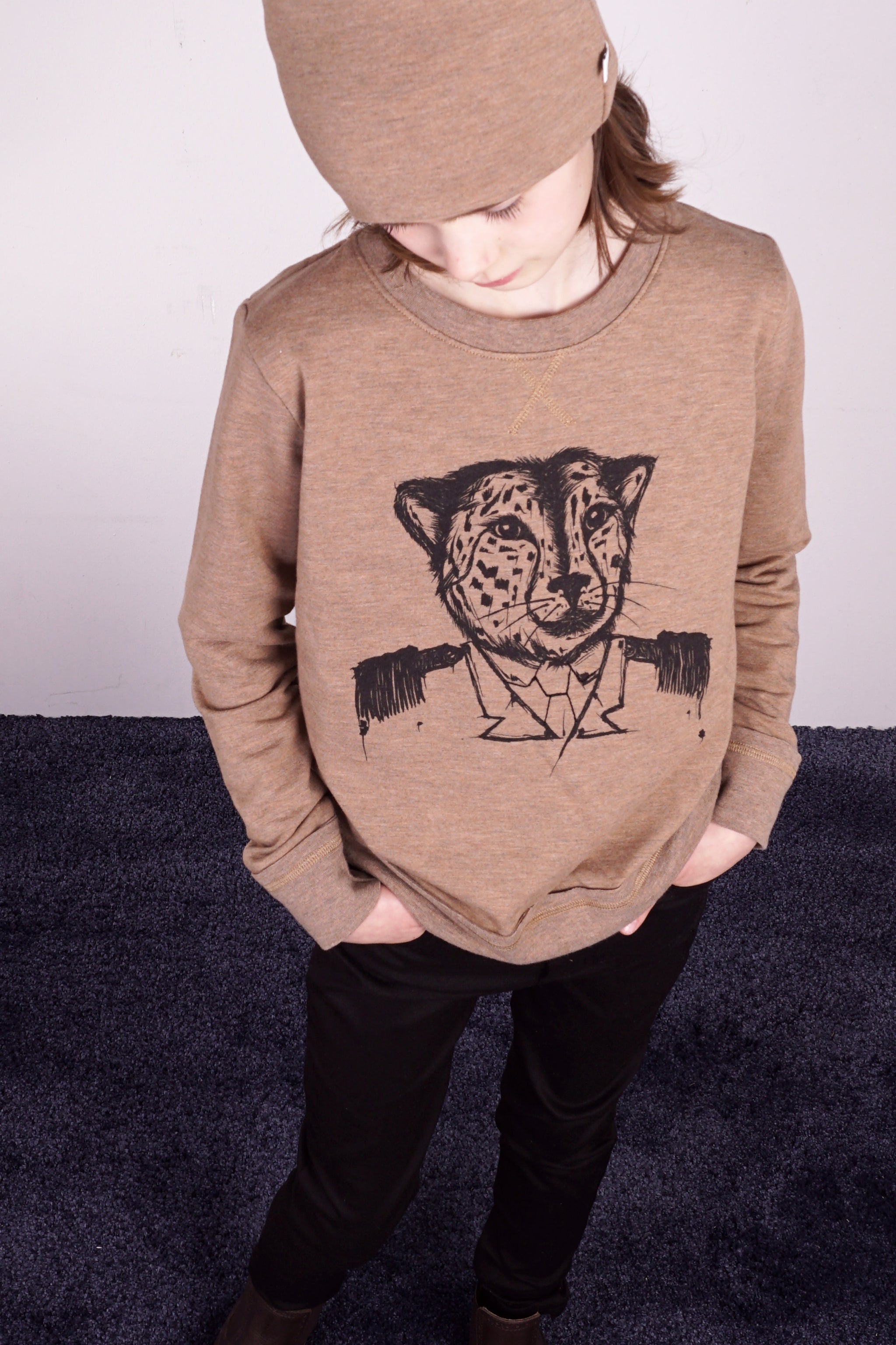 Knast by Krutter Leo Wood Sweatshirt