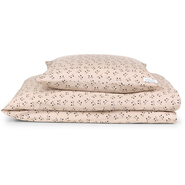 Liewood bedding print cat rose