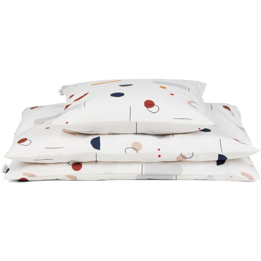 Liewood Bedding Abstract Off White
