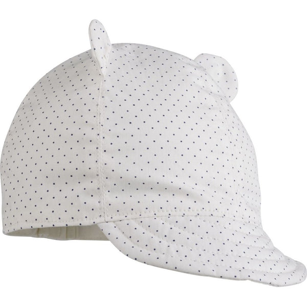 Liewood Ike Sun hat Little Dot Creme