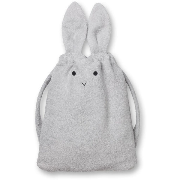 Liewood Thor towel back pack Rabbit grey