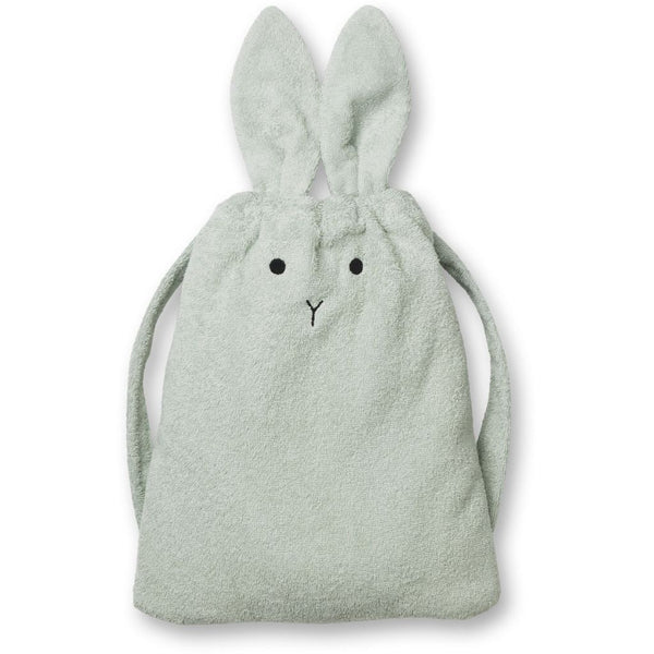 Liewood Thor towel back pack Rabbit mint