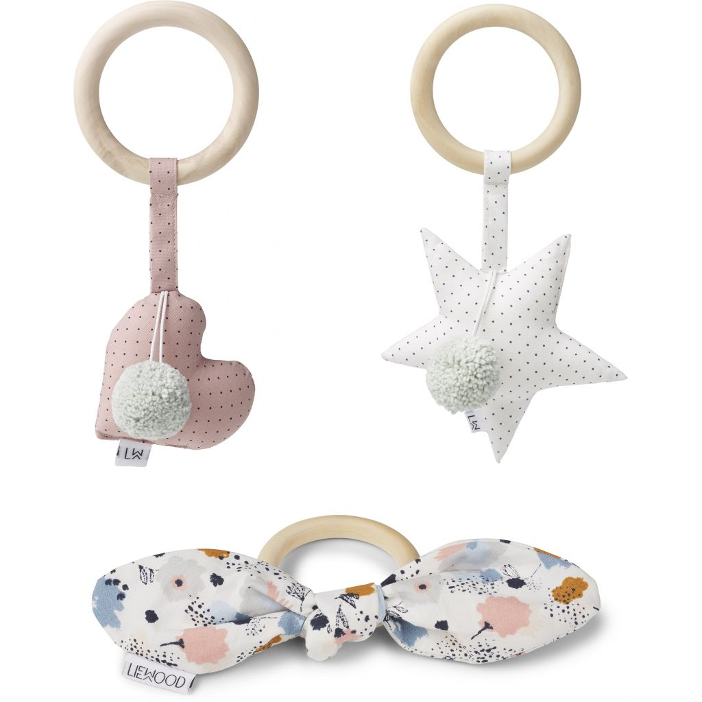 Liewood Girlie - rattle 3 pack
