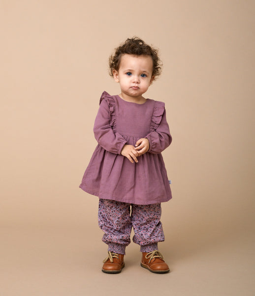 Wheat Sofie kjole 2378 plum