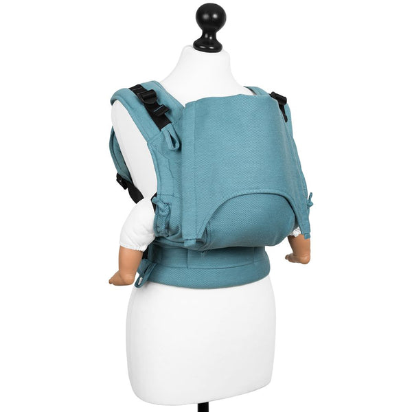Fidella Bæresele Baby size Buckle Carrier Lines blue