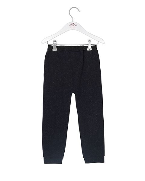 Noa Noa baby/mini shimmer sweatpants sort