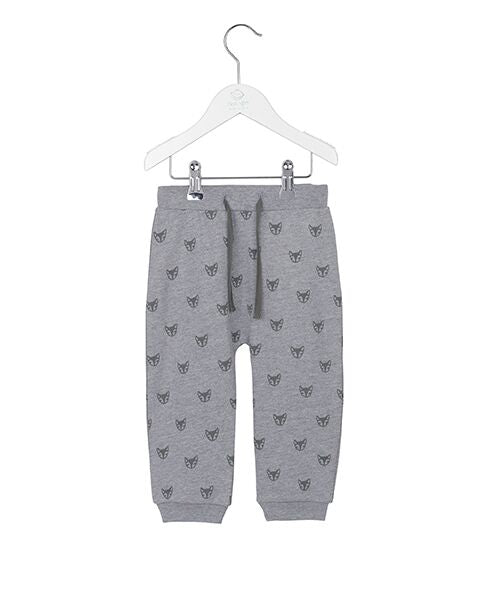 Noa Noa boy poetic sweatpants grey melange