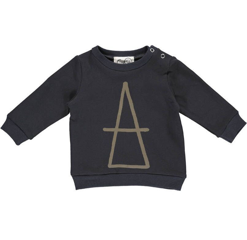 Gro black baby Sweatshirt