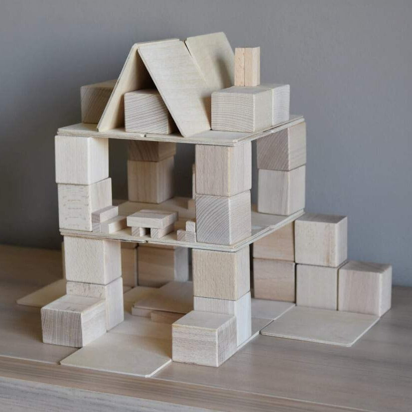 Houten blokken Just blocks - Small pack