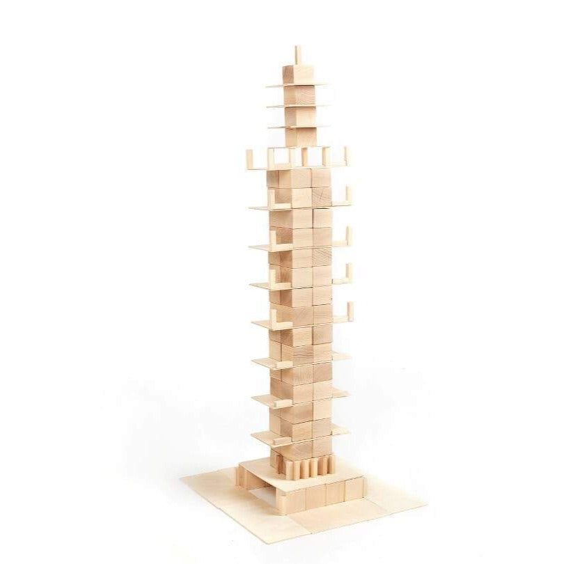 Houten blokken Just blocks - Medium pack