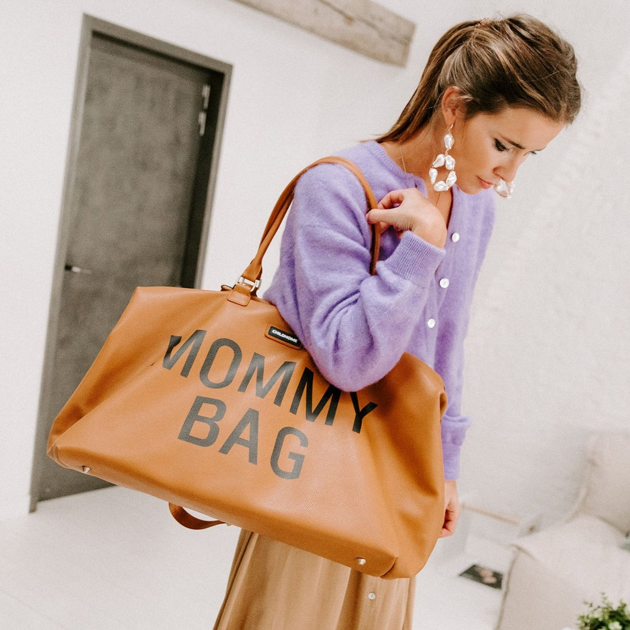 Verzorgingstas Childhome - Mommybag leatherlook