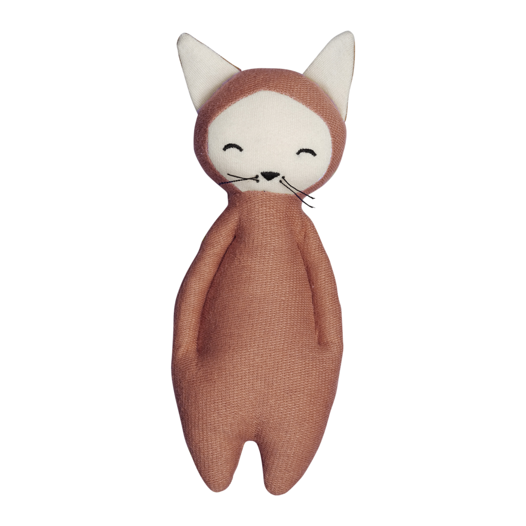 Rammelaar Fabelab - soft rattle fox