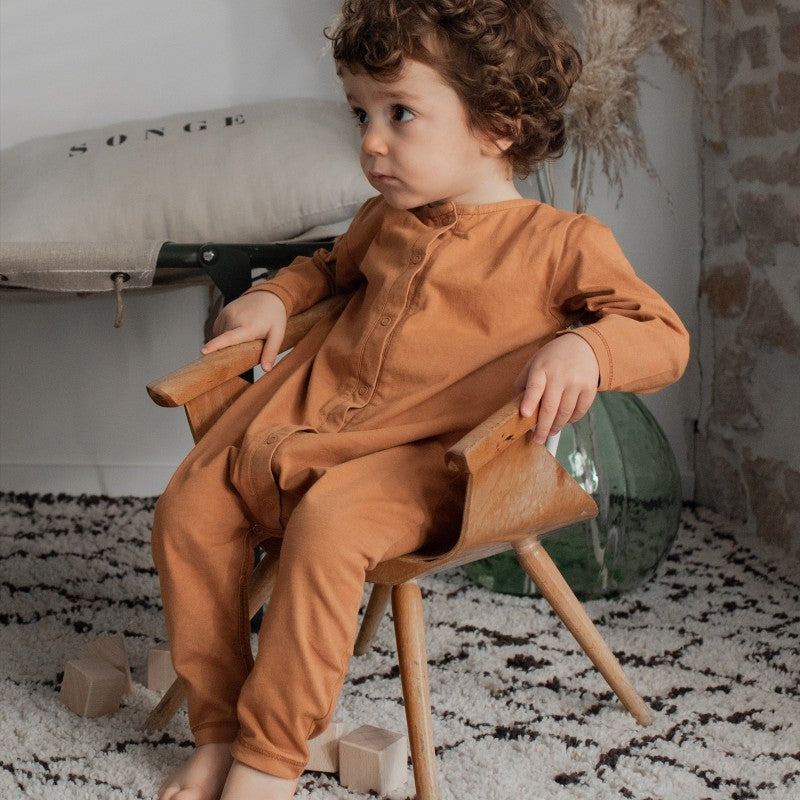 jumpsuit Bonjour little - nut