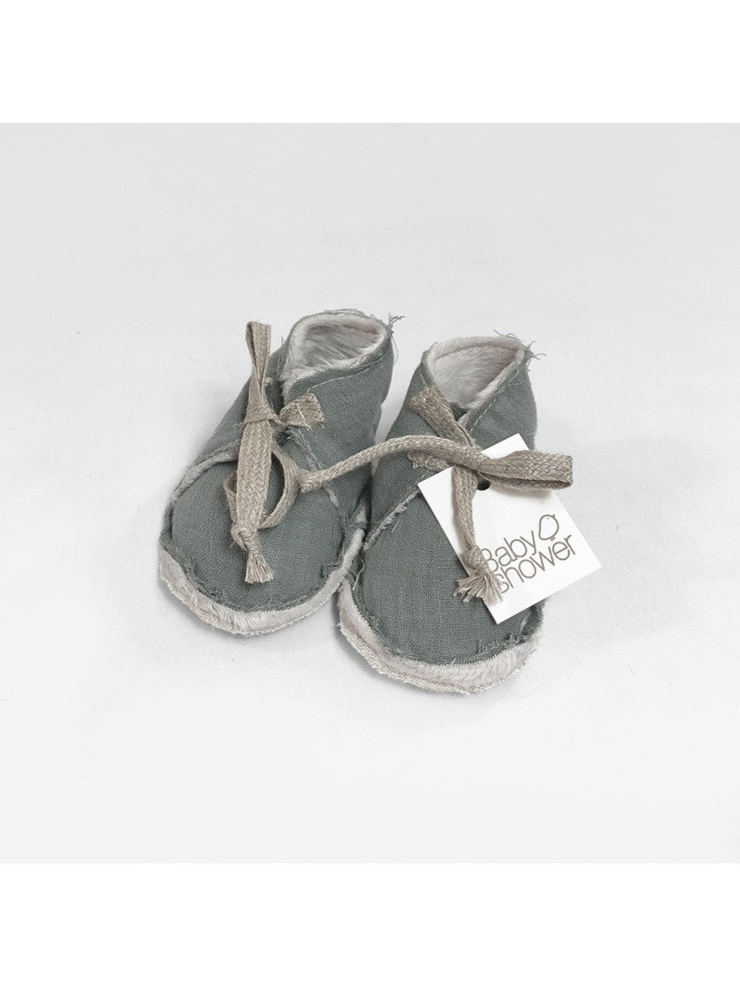 Babybooties Babyshower - grey