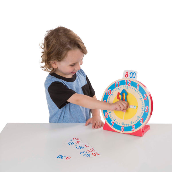 Turn & Tell Wooden Clock - Melissa & Doug