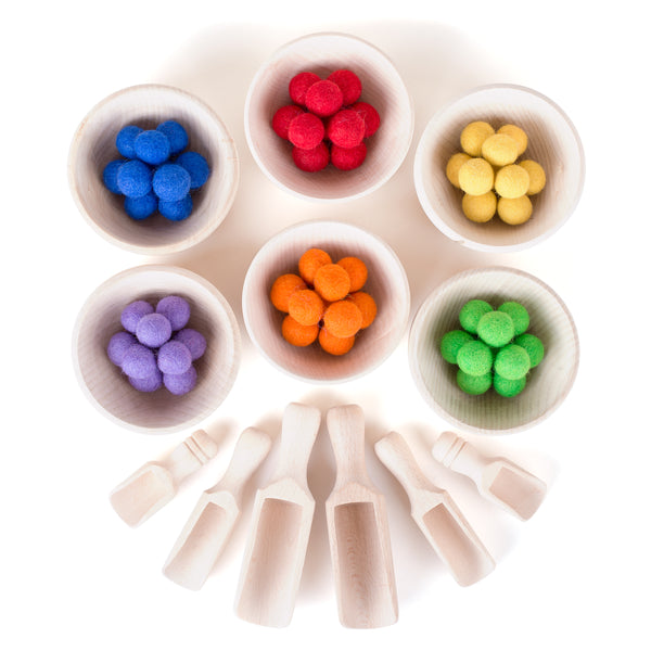 Rainbow Colours Sorting Set