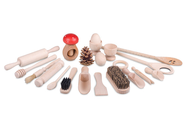 Treasure Basket Wooden Top-up Set