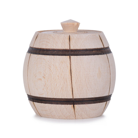 Wooden Barrel - Beech Wood