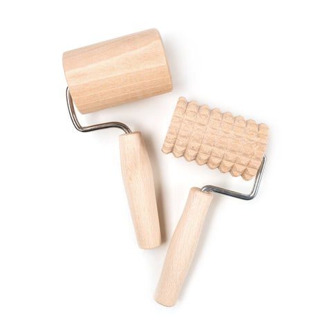 Wooden Rolling Pins - Set of 2