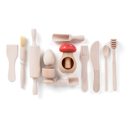 Starter Wooden Kitchen Play Set