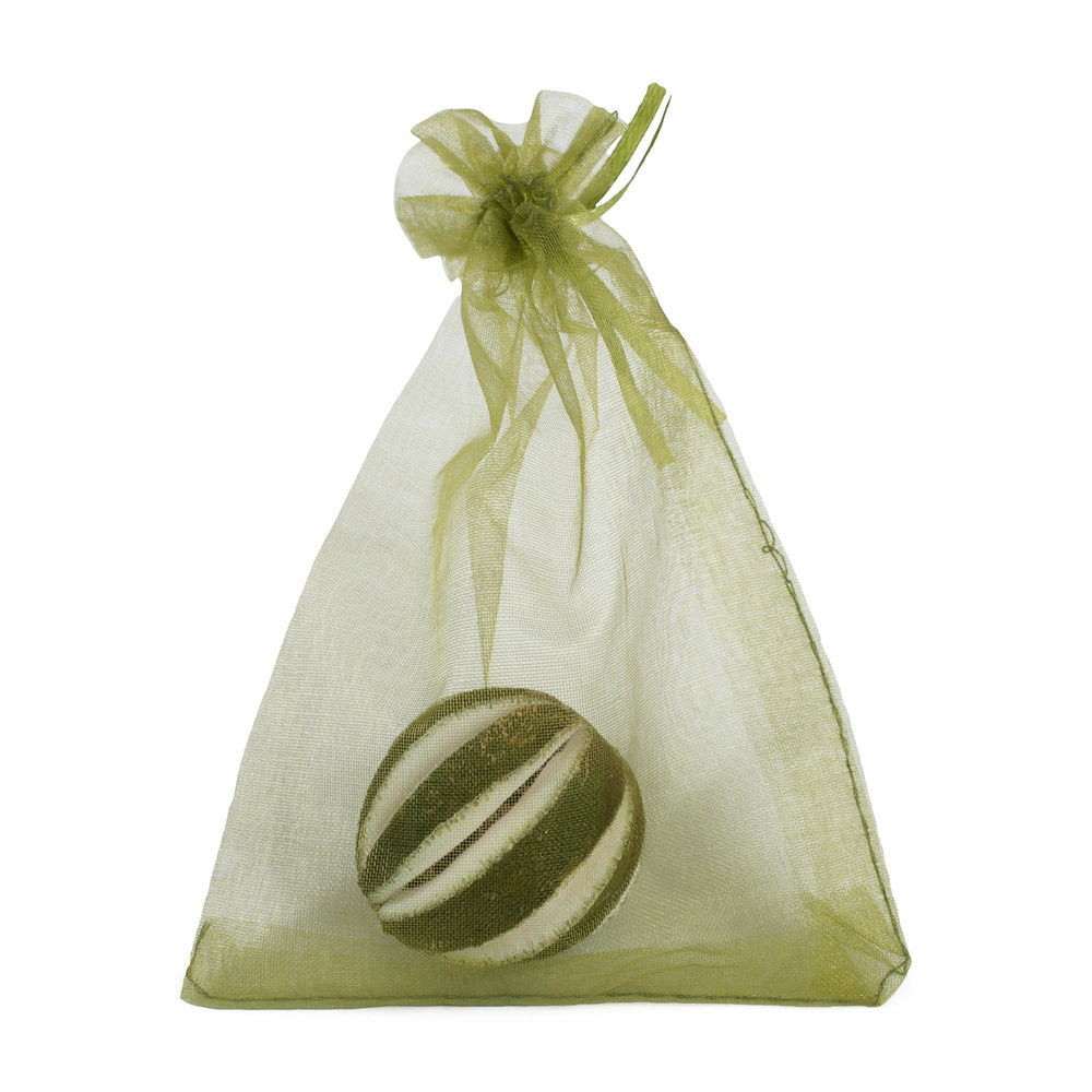 Dried Green Orange in a bag