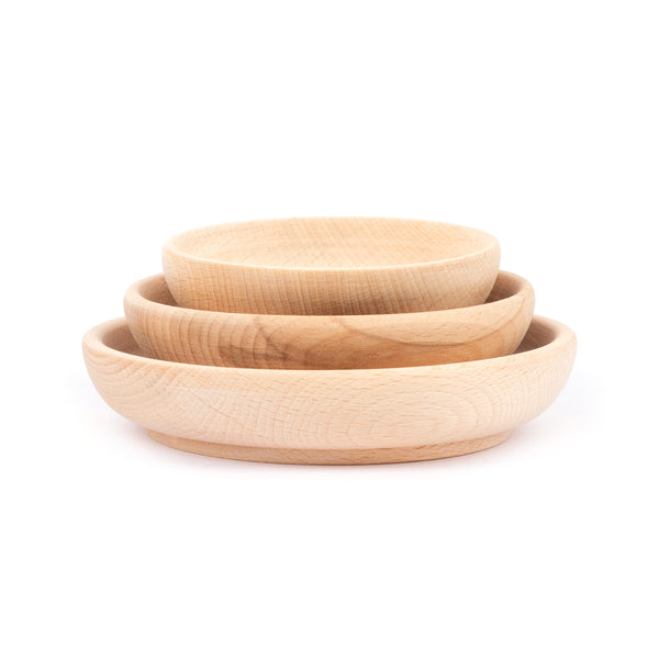 Set of 3 Shallow Bowls
