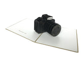 SLR Cameras Pop Up Card