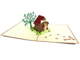 Dog House Pop Up Card