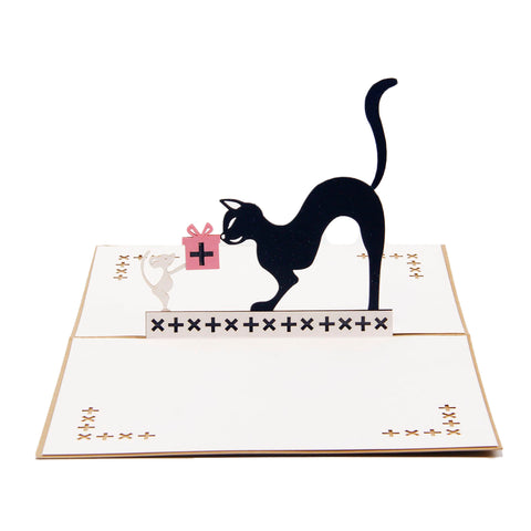 Cat Pop Up Card