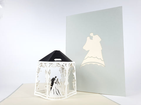 Wedding Gazebo Pop Up Card
