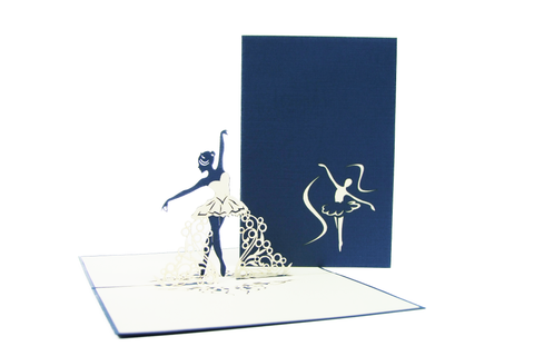 Ballerina Pop Up Card