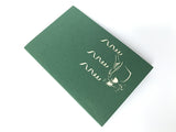 popping champagne bottle 3d popup congratulations gift card