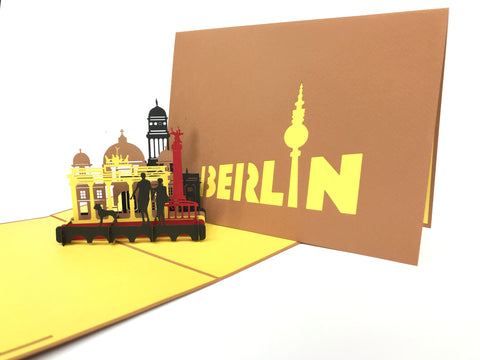 Berlin City Pop Up Card