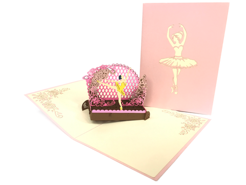 Ballet Theater Pop Up Card