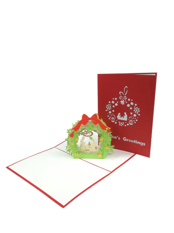 Christmas Picture Pop Up Card