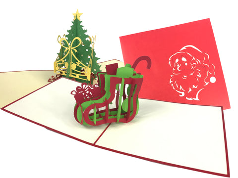 Christmas Sock Pop Up Cards Pack
