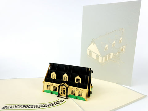 Uniqe House Pop Up Card