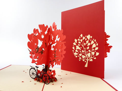 Love Tree Pop Up Card