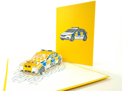 Police Pop Up Card