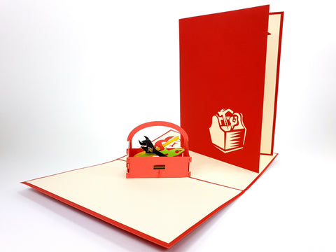 Toolbox Pop Up Card