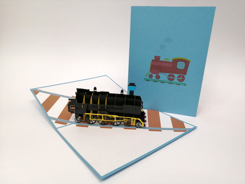 Train Pop Up Card
