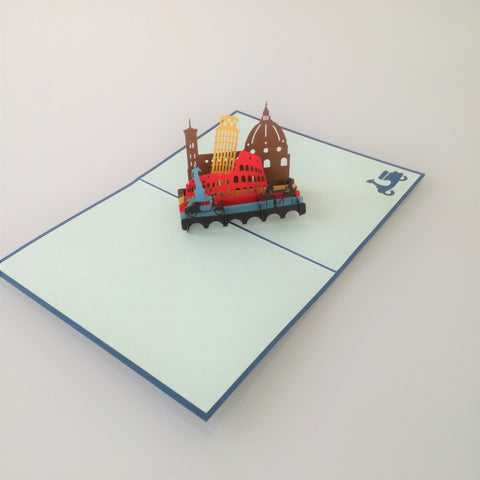 Viva Italia Pop Up Card