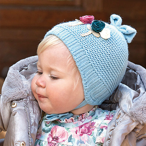 Jade Blue Hat, Scarf & Mitts Set - 10842