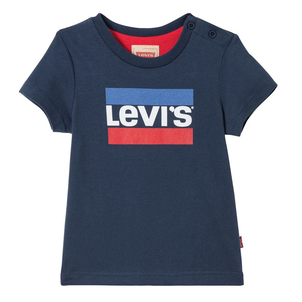 Baby Boys Navy Blue Hero T-Shirt