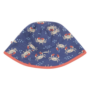 Reversible Sun Hat - Ocean Crab