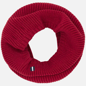 Maroon Snood Scarf